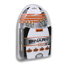 Binary™ Cables B5 Series Component Video Cable - Retail Pkg | 6.5 Ft (2 M)