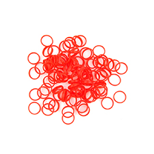 Planet Waves Color Rings BC/ST/ZM (Red | Pack of 100)