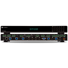 Atlona® Conferencing 4K Ultra HD Multi-Format Matrix Switcher with Dual Mirrored HDMI / HDBaseT Outputs - 8x2