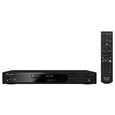 Pioneer® Elite 3D™-Compatible Streaming Blu-Ray Disc Player