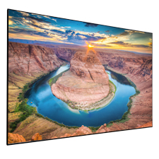 Dragonfly Thinline™ Fixed Ultra AcoustiWeave Projection Screen - 100'