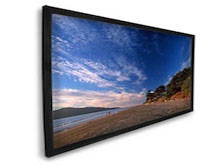 Dragonfly™ Fixed 16:9 High Contrast Projection Screen - 100' Screen Size