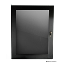 Strong™ Wall Mount Plexiglass Rack Door | 10U