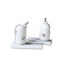 Episode® Swivel Ball Bracket for Speakers up to 10 lb. (Pair) - White