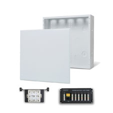 Wirepath™ 14' Enclosure Kit with Flush Metal Door, 1x6 Telephone, and 1x8 Video Modules