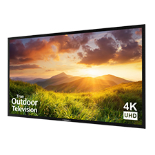 SunBriteTV® Signature Series 4K Ultra HD Partial Sun Outdoor TV - 65' (Black)