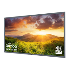 SunBriteTV® Signature Series 4K Ultra HD Partial Sun Outdoor TV - 65' (Silver)