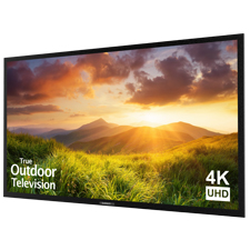 SunBriteTV® Signature Series 4K Ultra HD Partial Sun Outdoor TV - 75' | Black