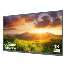 SunBrite™ Signature Series 4K Ultra HD Partial Sun Outdoor TV - 75' | Silver