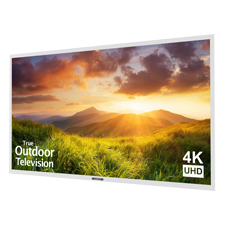 SunBrite™ Signature Series 4K Ultra HD Partial Sun Outdoor TV - 75' | White