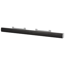 SunBrite™ 2-Channel Passive Soundbar for Outdoor TVs from 43'-84' (Silver)
