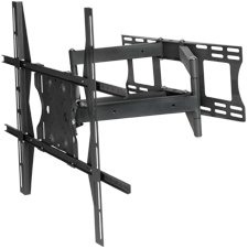 SunBrite™ Dual Arm Articulating Mount for 49-80 in. Extra Large Displays (Black)