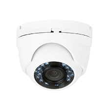 Luma Surveillance™ 100 Series Turret Analog Camera | White