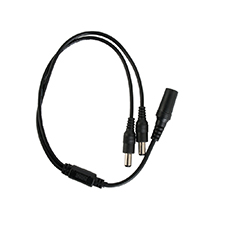 Wirepath™ Surveillance DC Power Splitter Cable - 1 Female to 2 Male