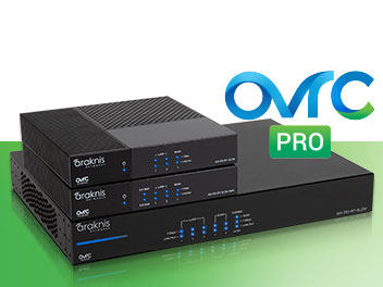 OvrC Pro with Araknis Routers