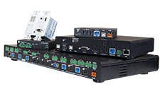 Switcher, receiver and other conference products