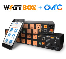 WattBox products plus OvrC