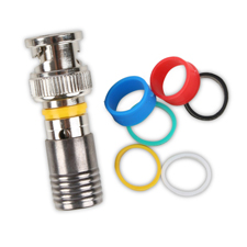 Binary™ BNC Male Compression Connector for RG6/U - 75 Ohm (Bag of 20)
