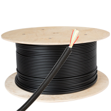 Wirepath™ 2 Strand Direct Burial Fiber with Corrugated Steel Armor - 1000 Ft