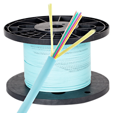Wirepath™ 12 Strand Micro Distribution Fiber Optic Cable - 1000 Ft