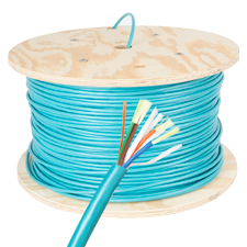 Wirepath™ 4 Strand Breakout Fiber Optic Cable - 1000 Ft