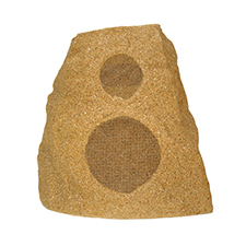 Klipsch All Weather Series Dual Voice Coil Rock Speakers - 6.5' Woofer | Sandstone (Each)