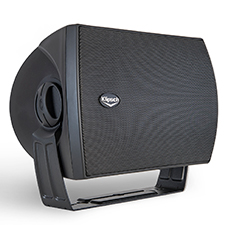 Klipsch Commercial All-Weather Series 70-Volt Surface Mount Speaker - 5.25' | Black (Each)