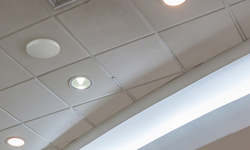 810 Series WAP installed on a ceiling