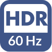 Blue HDR 60 icon