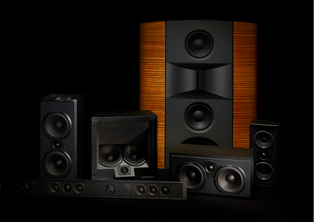 Family shot of Triad speakers
