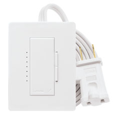 Lutron® Tabletop Lamp Dimmer - (Snow)