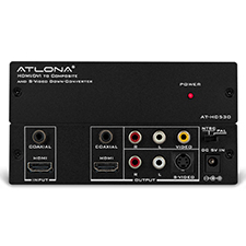 Atlona® HDMI/DVI to Composite and S-Video Down-Converter