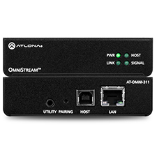 Atlona® OmniStream™ Host Side USB to IP Adapter