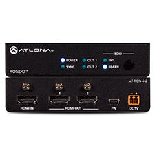 Atlona® 4K HDR 2-Output HDMI Distribution Amplifier