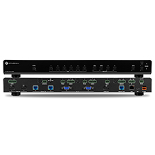 Atlona® Conferencing 4K Ultra HD Multi-Format Switcher with Two HDBaseT Inputs and Mirrored HDMI / HDBaseT Outputs