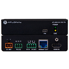 Atlona® 4K/UHD HDMI over HDBaseT Transmitter with Control and PoE