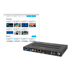 Binary™ 900 Series 4K Media over IP Transmitter