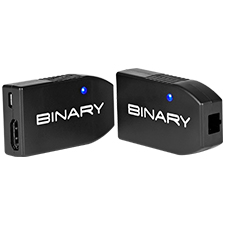 Binary™ B10 Series Fiber to HDMI Extender – 4K @ 60Hz, 18Gbps, HDR, ARC