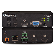 Atlona® Conferencing HD Video Scaler for HDMI and VGA Signals