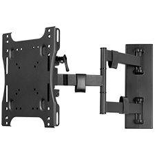 Strong® Carbon Series Medium Single Arm Articulating Mount | 24' - 55' Televisions