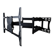 Strong™ Contractor Series Universal Articulating Dual Arm Mount - 37-70' Displays