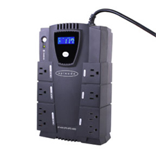Episode® Surge Stand Alone 340W UPS with RJ45/RJ11 - 8 Outlets