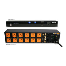 WattBox® 600 Series Sequencing Power Conditioner with Safe Voltage and Faceplate Display - Kit