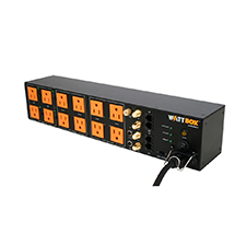 WattBox® Power Conditioner with Sequencing, Safe Voltage, Coax and Ethernet Protection | 12 Outlets