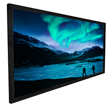 Dragonfly Ultra Black Fixed 16:9 ALR Projection Screen - 100' Screen Size