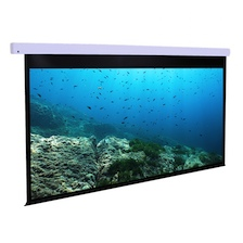 Dragonfly™ Motorized 16:9 Matte White Projection Screen - 100' Screen Size