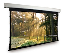 Dragonfly™ Motorized Tab Tension 16:9 High Contrast Projection Screen - 106' Screen Size