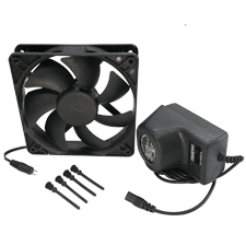 Cool Components™ 120MM Fan Kit with Power Supply