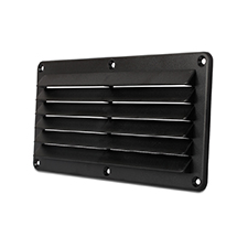 Cool Components™ Plastic Grill - 4x10 Opening (Black)