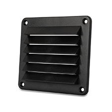 Cool Components™ Plastic Grill - 4x5 Opening (Black)